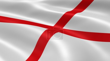 Alabamian flag in the wind
