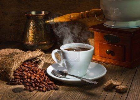 meuleuse et autres accessoires pour le café