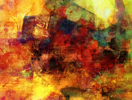 Abstract painted background grunge