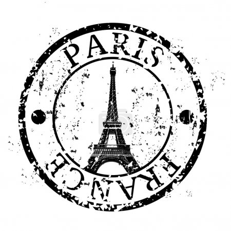 Vector illustration of isolated Paris icon