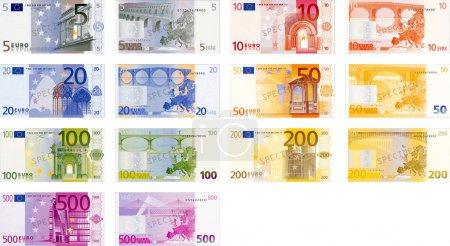 Euro Bank Notes Pack