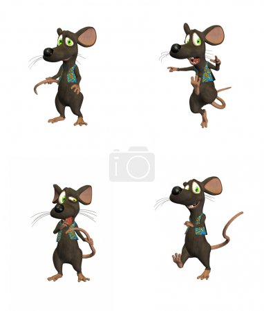 Cartoon Mouse Pack 2/3