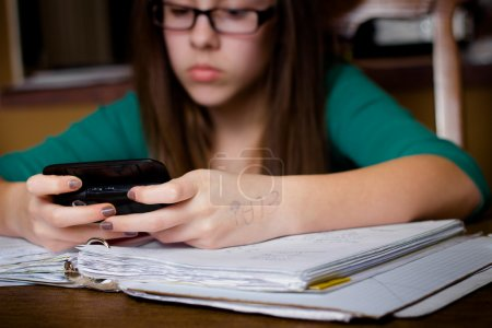 Texting and Homework