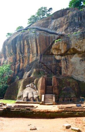 View of mount Sigiriya Sri