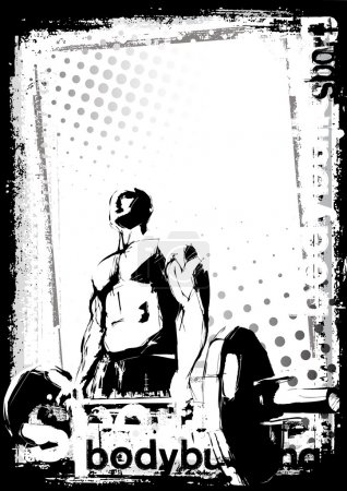 The bodybuilder poster