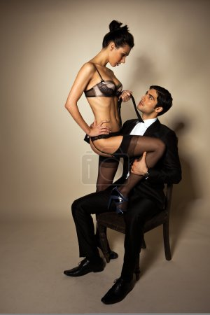 Businessman With Sexy