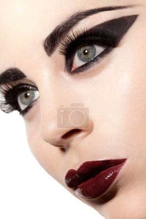 Sultry Gothic Beauty