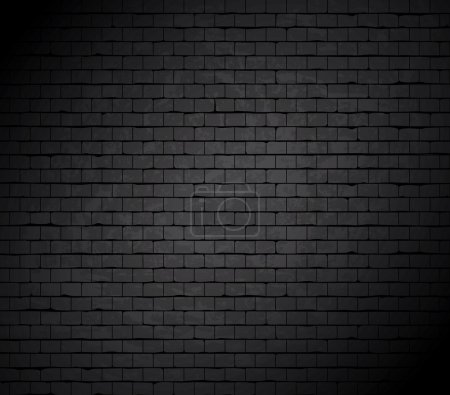 Grunge brick wall. Vector background.