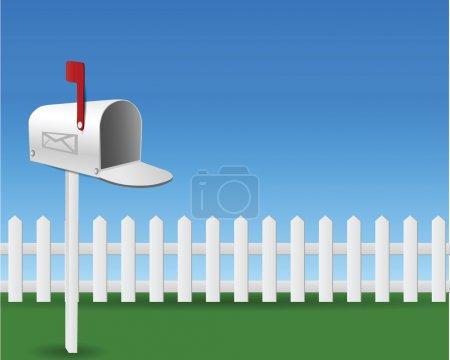 Mail Box in the garden...