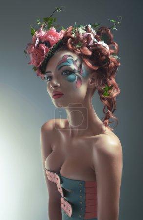 Photo pour Comtesse florale - image libre de droit