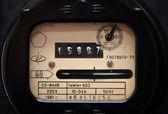 Medidor eléctrico antiguo