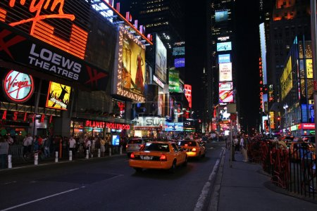 Photo for Times Square in New York City - Royalty Free Image