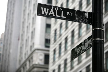 Photo for Wall street - Royalty Free Image