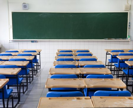 Photo for Classroom and chalkboard - Royalty Free Image