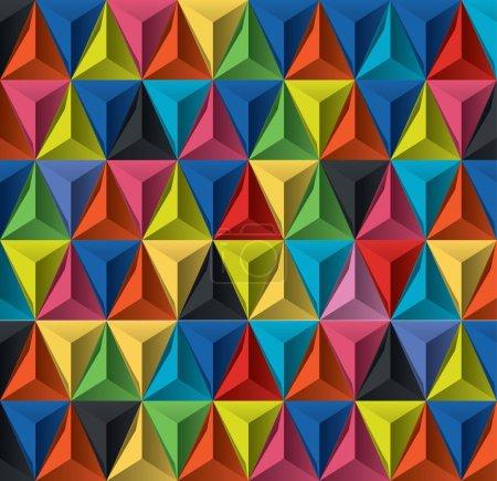 Illustration for Editable modern vector background for design - Royalty Free Image