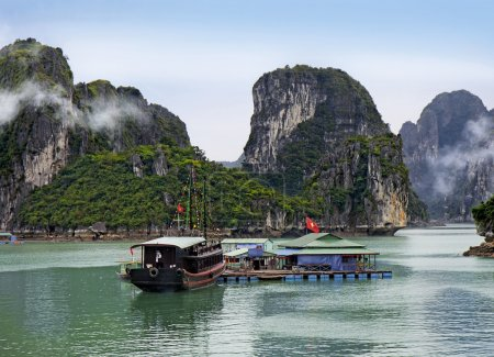 Photo for Halong Bay, Vietnam. Unesco World Heritage - Royalty Free Image