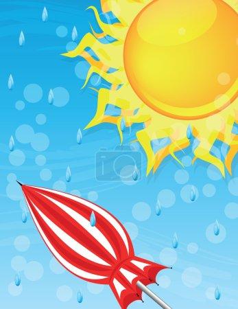 Big shining sun