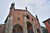 St. Eufemia church. Piacenza. Emilia-Romagna. Italy.