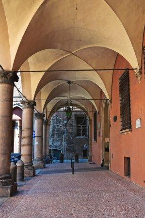 Alleyway. Bologna. Emilia-Romagna. Italy.