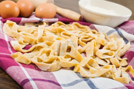 Photo for Homemade fresh pasta. - Royalty Free Image