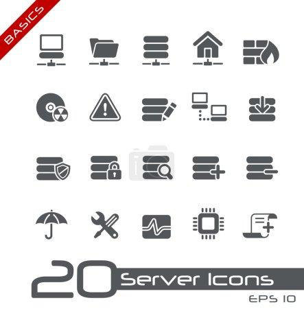 Illustration pour Icônes vectorielles pour vos projets web ou d'impression. - image libre de droit