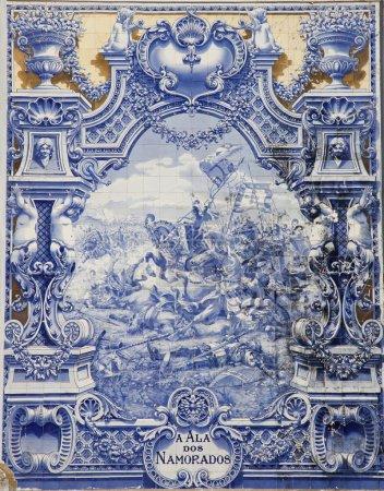 Blue tiles, Azulejos