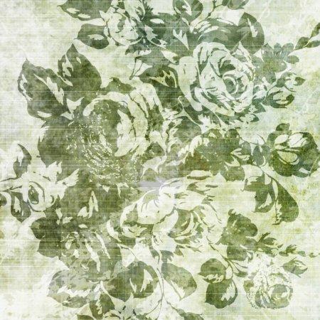 Photo pour Textures florales en papier - image libre de droit