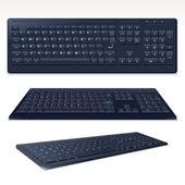 Vector Black Computer Keyboard