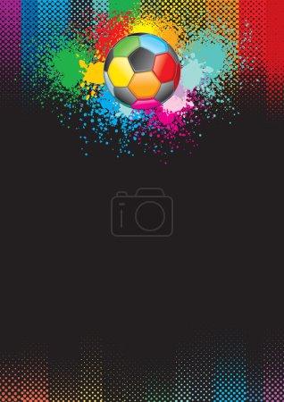 Soccer grunge