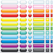 Multicolored shine buttons for your web design...