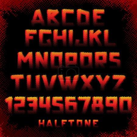 Grunge Style Alphabet