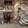 Old wall of a Cairo city. Egypt...