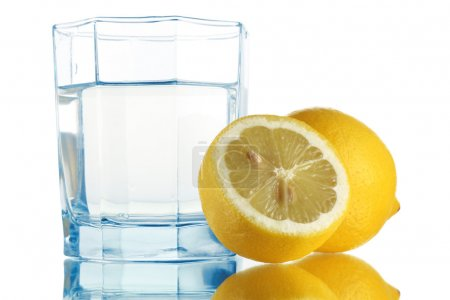Photo for Fresh water and lemons - Royalty Free Image