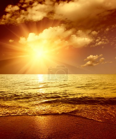 Photo for Sunset on sea - Royalty Free Image
