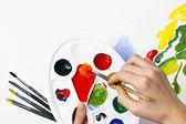 pinceau et palette