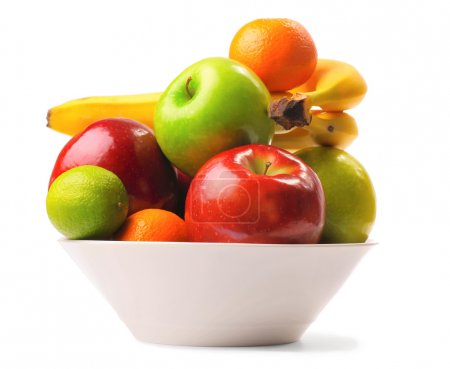 Photo for Ripe fruits in deep plate - Royalty Free Image