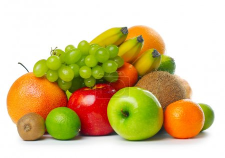 Photo for Heap of ripe tropical fruits - Royalty Free Image