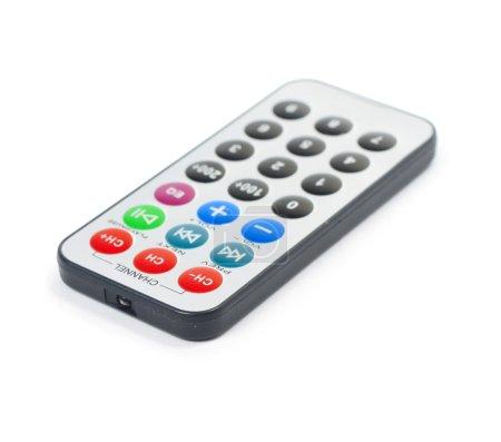 Photo pour Télécommande isolée sur blanc - image libre de droit