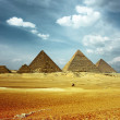 Grate pyramids in Giza valley...