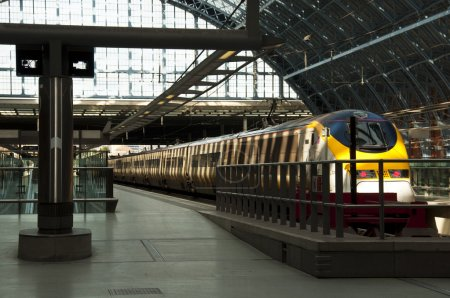 Eurostar at St Pancras station