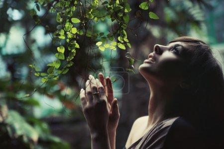 Photo pour Incroyable photo de beauté brune - image libre de droit