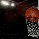 Basketball shot...