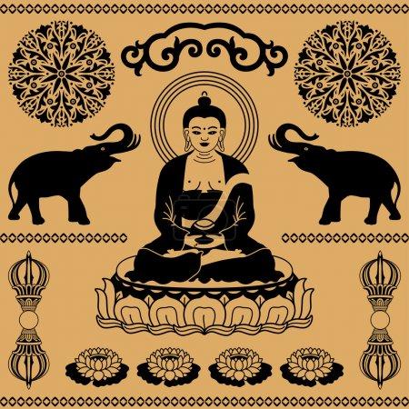 East Buddhist elements