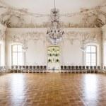 Great Hall Ballroom in Rundale Palace, Latvia...