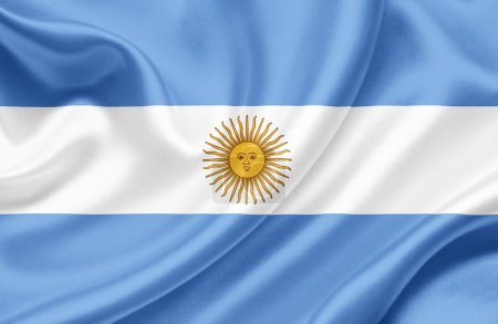 Argentina waving flag