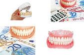 Kolekce zubní a zubní konceptu obrázků