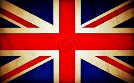 Grande-Bretagne drapeau grunge