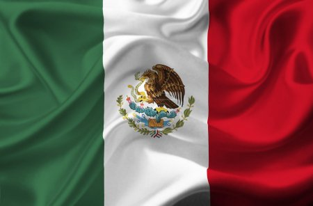 Mexico waving flag