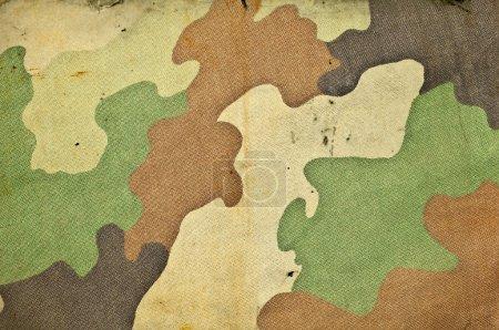 Foto de Fondo retro camuflaje ejército - Imagen libre de derechos