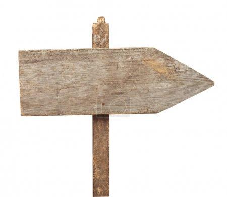 Photo pour Panneau de signalisation isolé sur fond blanc - image libre de droit